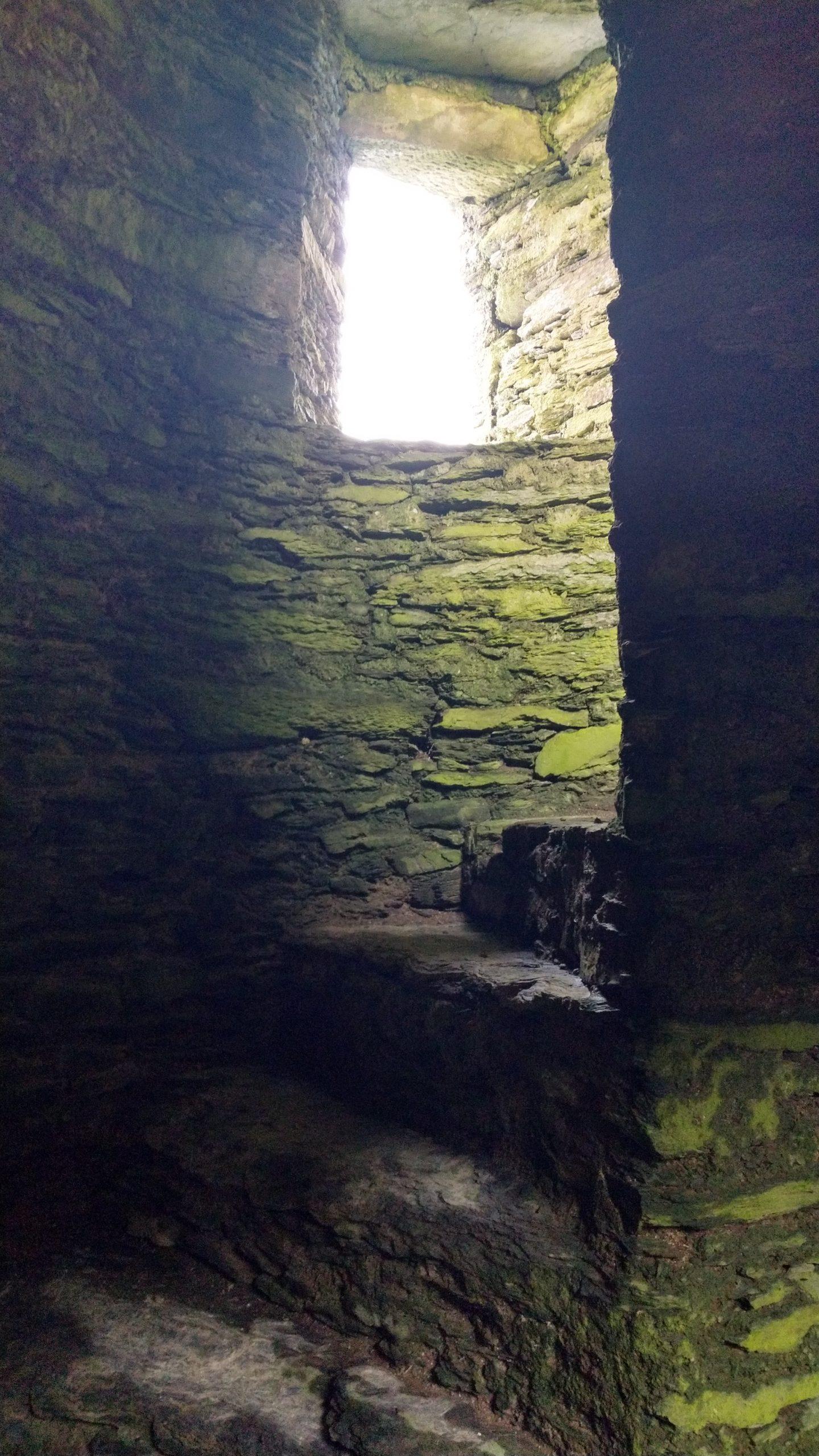 Castle Donovan Irland, Treppenaufgang