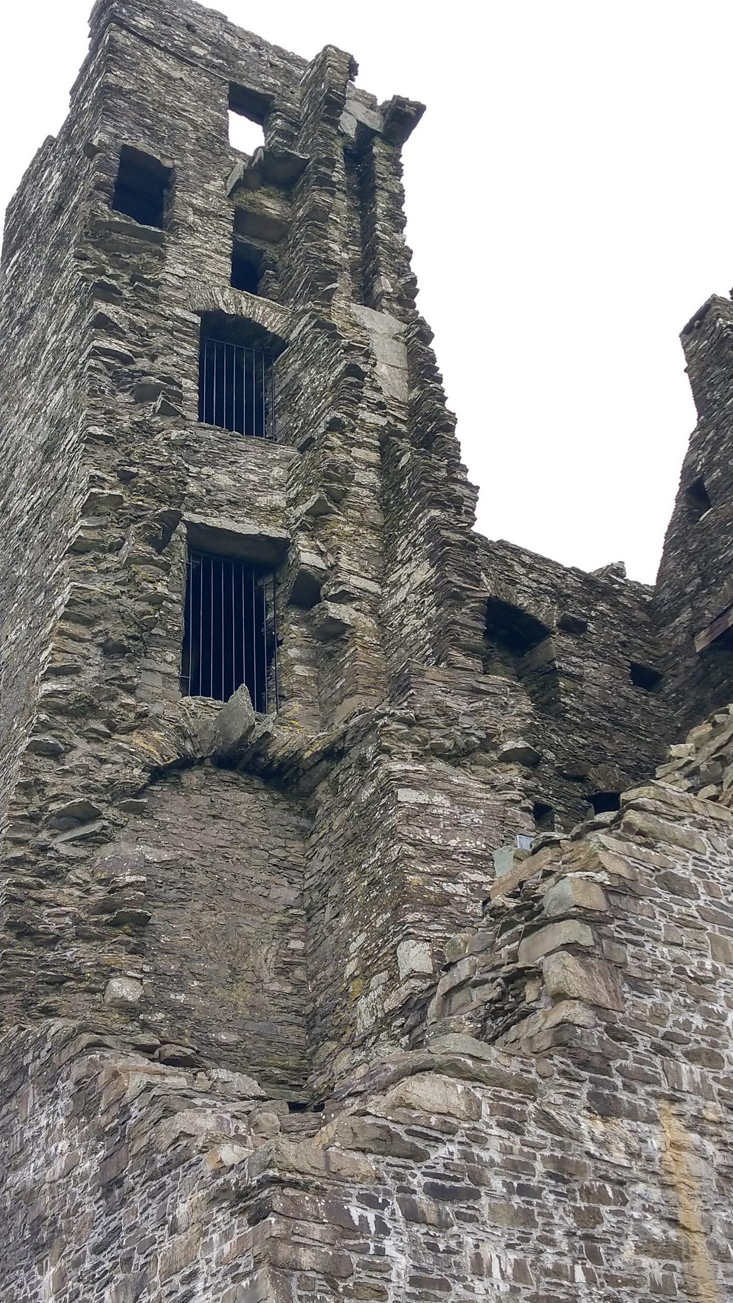 Castle Donovan Irland, Mauerwerk
