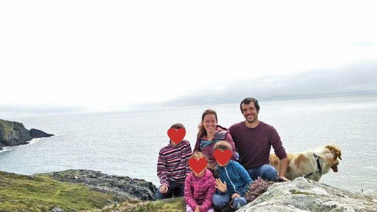Familie Nawka am Beacon im Südwesten Irlands